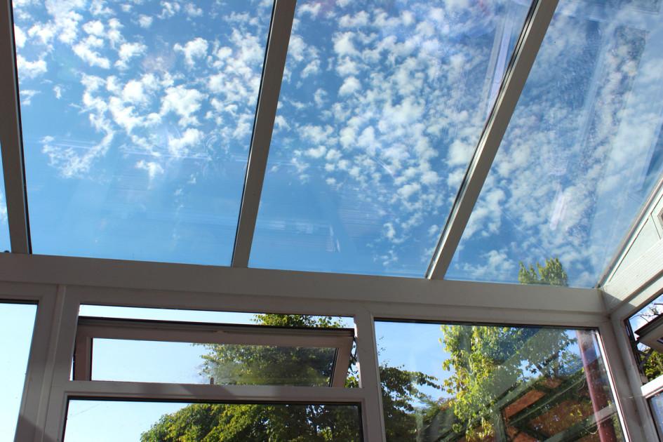 veranda vitre teintee